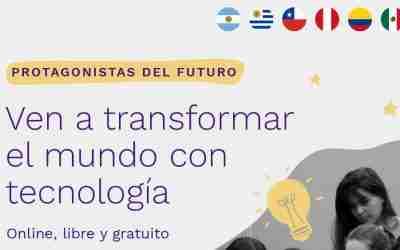Ven a transformar el mundo con tecnología