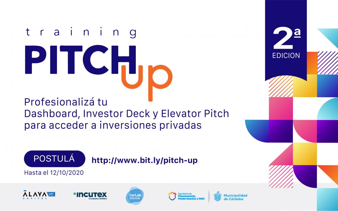 Se abre convocatoria para la segunda edición de Pitch-Up!