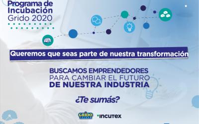 Convocatoria de Innovación Abierta: Incutex & Grido