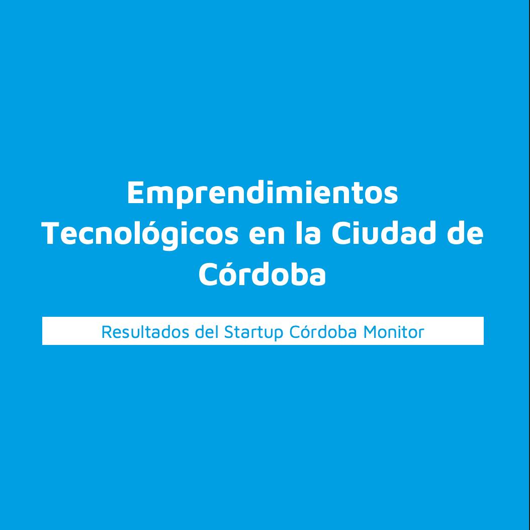 Resultados del Startup Córdoba Monitor