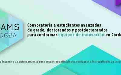 I-Teams: nueva convocatoria a universitarios para conformar equipos de innovación en Córdoba