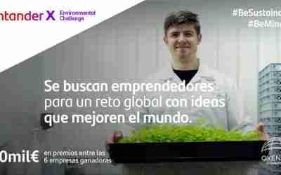 Santander X Environmental Challenge: una convocatoria global para emprendedores con ideas innovadoras
