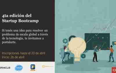 Llega la 4ta edición gratuita del Startup Bootcamp