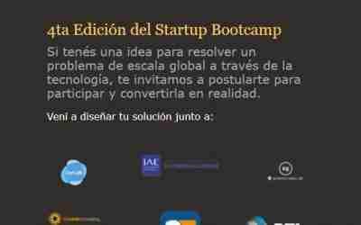 ¡Llega la cuarta edición del Startup Bootcamp para todo Latinomérica!
