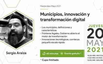 Masterclass: Municipios, innovación y transformación digital