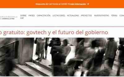 Curso gratuito: govtech y el futuro del gobierno