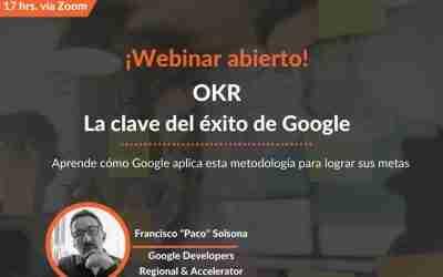 """Webinar """"OKR: La clave de éxito de Google"""""""