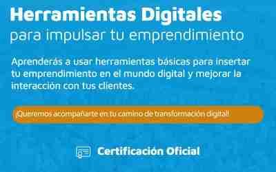 Desde CorLab, lanzamos un curso gratuito sobre herramientas digitales para emprendedores