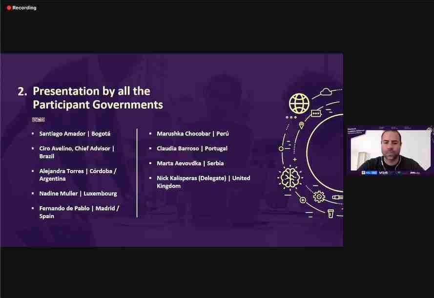CorLab, invitado por CAF para formar parte del Govtech Leaders Alliance