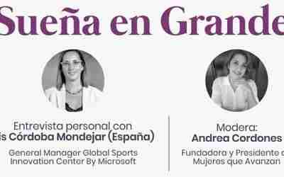 Mujeres que avanzan con Iris Córdoba Mondejar (Microsoft, España)