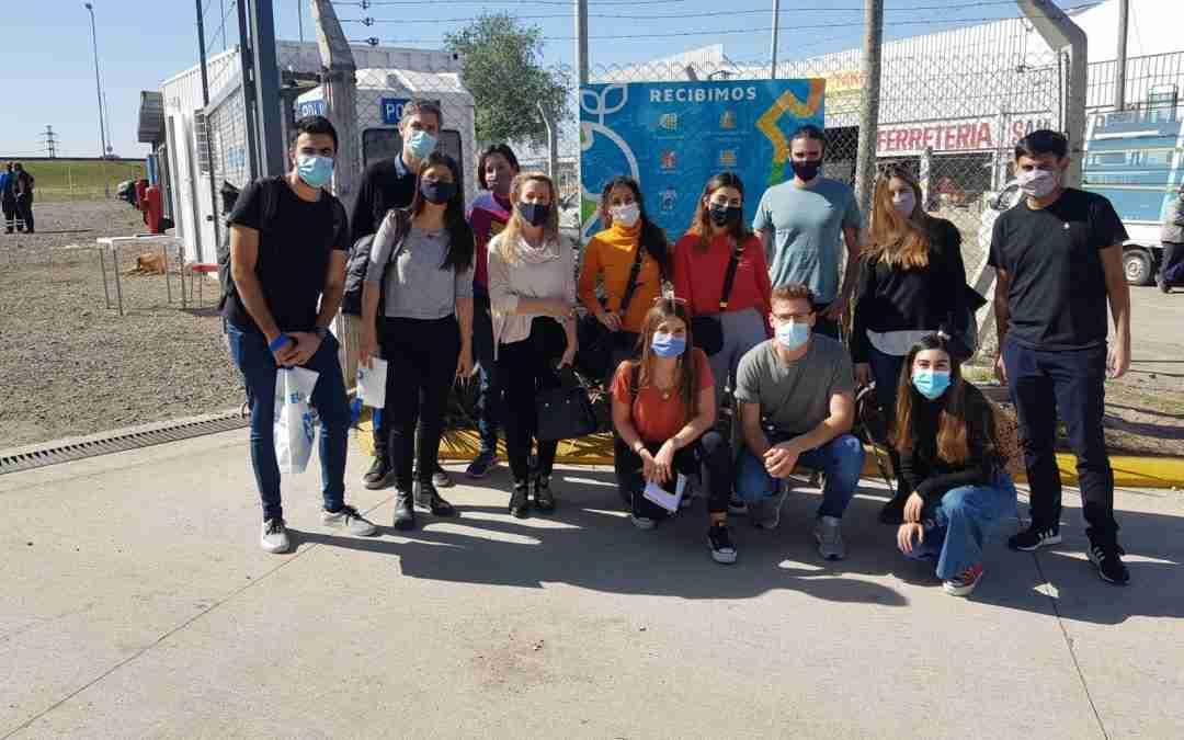 Concurso Interuniversitario: estudiantes universitarios visitaron los Centros Verdes de la ciudad de Córdoba