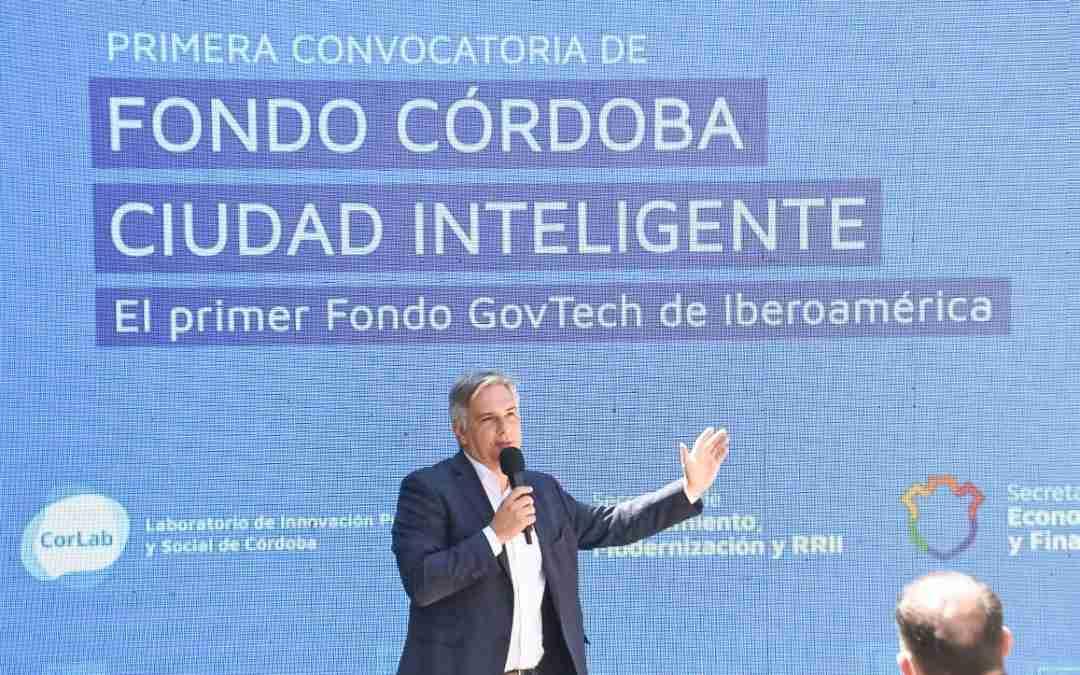 """Emprendimientos innovadores ya pueden presentarse para acceder al """"Fondo Córdoba Ciudad Inteligente"""""""
