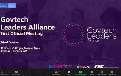 CorLab representó a la ciudad de Córdoba en la primera reunión oficial de la Alianza Global de Líderes Govtech